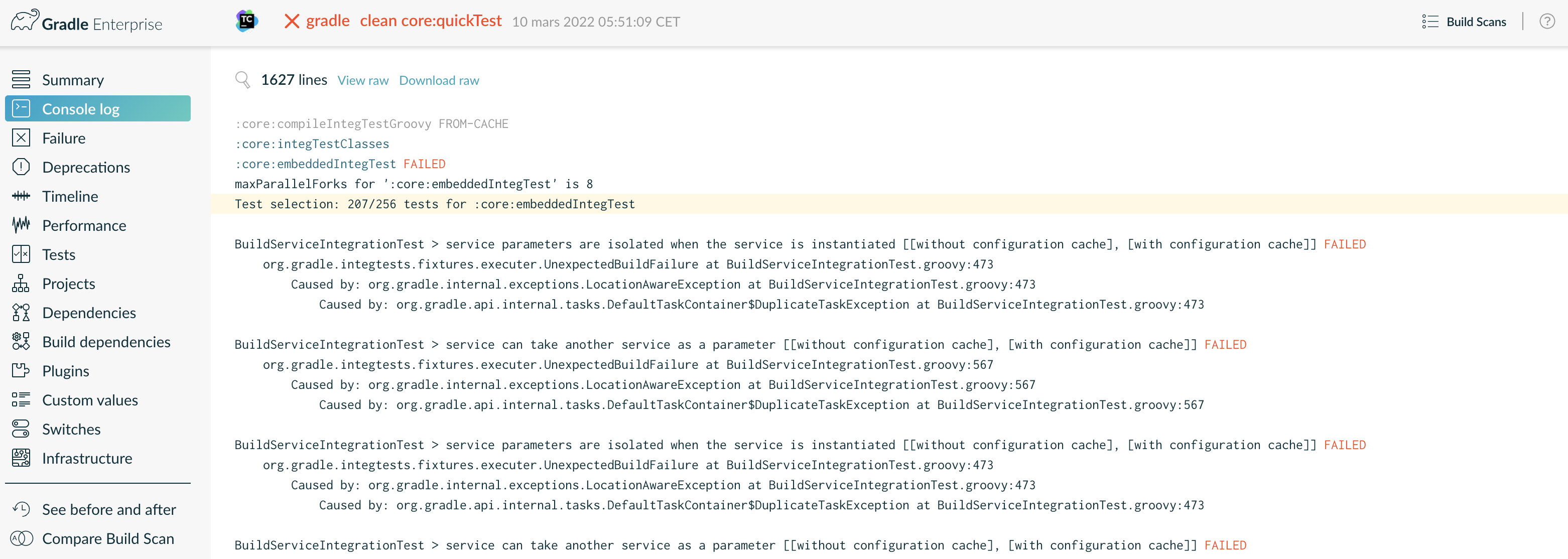 Getting Started with Gradle Enterprise for Gradle users